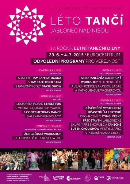 Léto tančí - Eurocentrum Jablonec nad Nisou - AtlasCeska.cz 17f74c15a4
