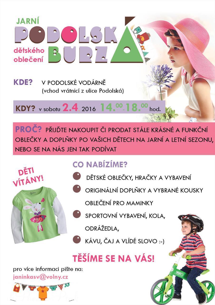 BURZA DĚTSKÉHO OBLEČENÍ- PODOLÍ Praha - AtlasCeska.cz df7b4b2555